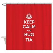Hug Tia Shower Curtain