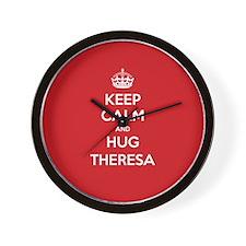 Hug Theresa Wall Clock
