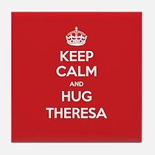 Hug Theresa Tile Coaster