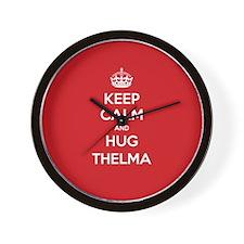 Hug Thelma Wall Clock