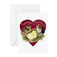 Love Chickies Greeting Cards