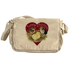 Love Chickies Messenger Bag
