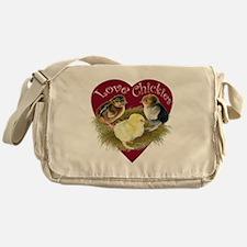 Love Chickies Messenger Bag