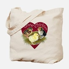 Love Chickies Tote Bag