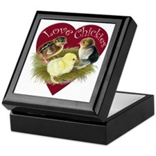 Love Chickies Keepsake Box