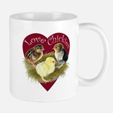 Love Chickies Mugs
