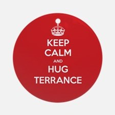 Hug Terrance Ornament (Round)