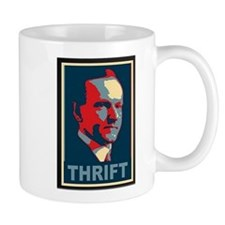 "Calvin Coolidge ""Thrift"" Mugs"