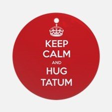 Hug Tatum Ornament (Round)