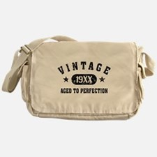 Personalize Vintage Aged to Perfection Messenger B