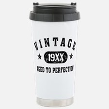 Personalize Vintage Aged to Perfection Travel Mug