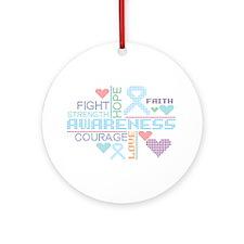 Addison Disease Slogans Ornament (Round)