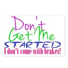 don't get me started Postcards (Package of 8)