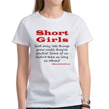Short Girls (red) T-Shirt