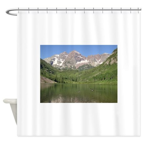 Maroon Bells Shower Curtain By ColoradoImages1