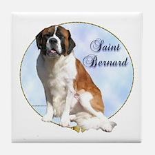 Saint Portrait Tile Coaster