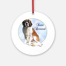 Saint Portrait Ornament (Round)