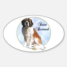 Saint Portrait Oval Decal