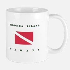 Moorea Island Tahiti Dive Mugs