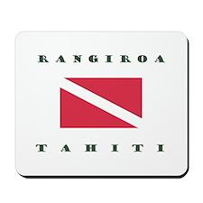 Rangiroa Tahiti Dive Mousepad