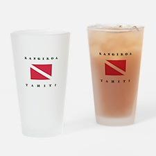 Rangiroa Tahiti Dive Drinking Glass