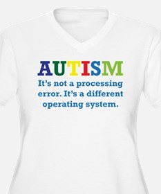 Autism awarness Plus Size T-Shirt