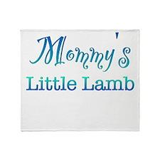 Mommys Little Lamb Throw Blanket