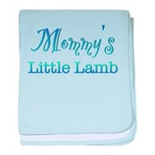 Mommys Little Lamb baby blanket