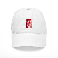 TP New White on Red Baseball Cap