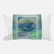 Misty Morning Meditation Pillow Case