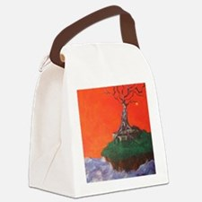 Golden apple of discord Canvas Lunch Bag