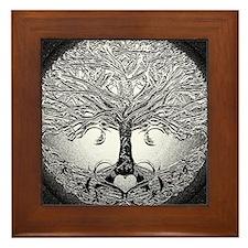 Tree of Life Bova Framed Tile