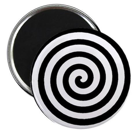 "Hypnotic Spiral 2.25"" Magnet (100 pack)"