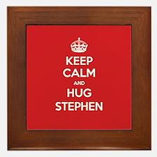 Hug Stephen Framed Tile