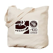 1992 Mexico Coffee Export Postage Stamp Tote Bag