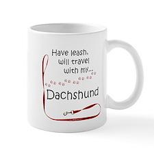 Dachshund Travel Leash Mug