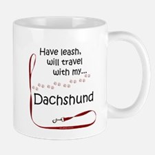 Dachshund Travel Leash Mug