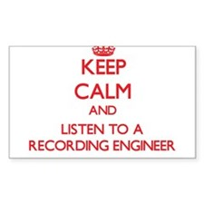 Keep Calm and Listen to a Recording Engineer Stick