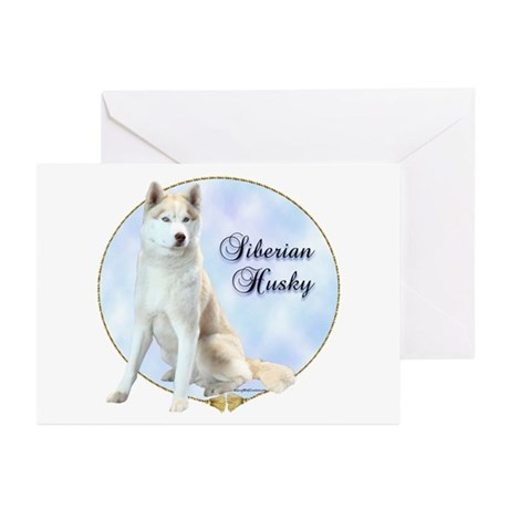 Siberian Portrait Greeting Cards (Pk of 10)