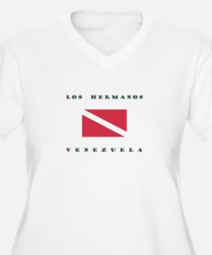 Los Hermanos Venezuela Dive Plus Size T-Shirt