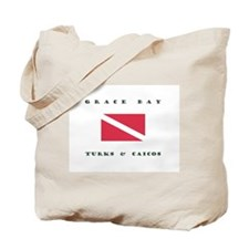 Grace Bay Turks and Caicos Dive Tote Bag