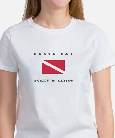 Grace Bay Turks and Caicos Dive T-Shirt