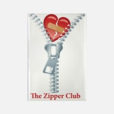 The Zipper Club Rectangle Magnet
