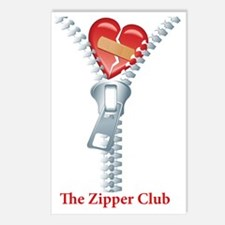 The Zipper Club Postcards (Package of 8)