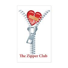 The Zipper Club Decal
