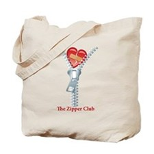 The Zipper Club Tote Bag