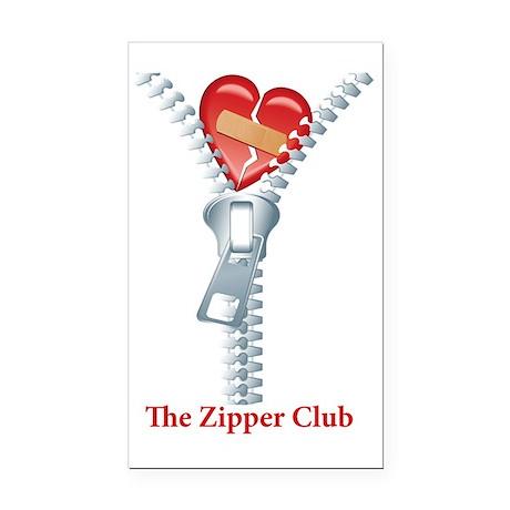 The Zipper Club Rectangle Car Magnet