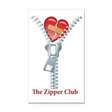 The Zipper Club Rectangle Car Magnet