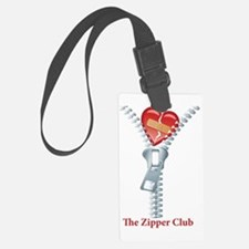 The Zipper Club Luggage Tag