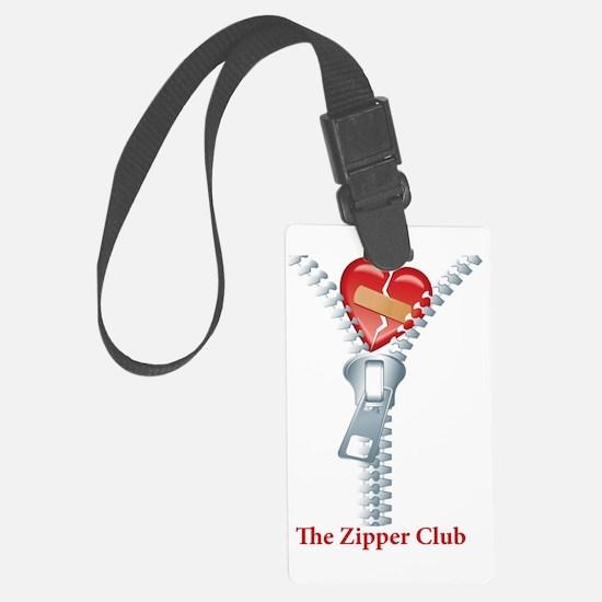 The Zipper Club Luggage Tag